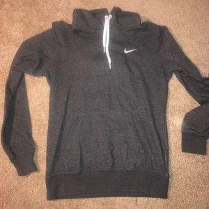 Grey Nike Sweatshirt/ Hoodie - Small